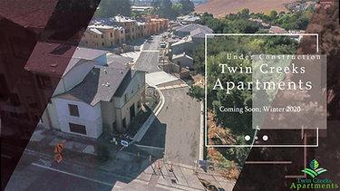 Twin Creeks Apartments Construction Progress