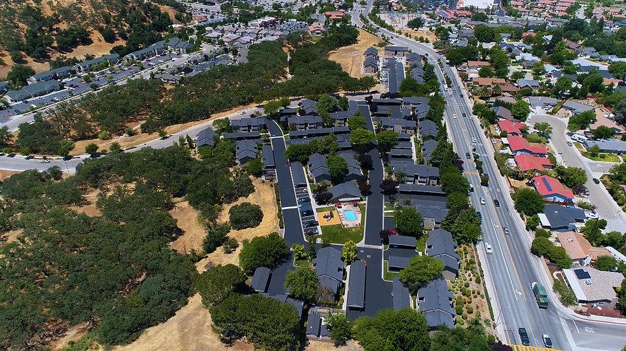 Alder Creek Apartments aerial video