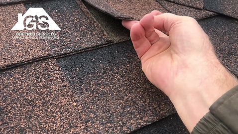 FAQ #2- What happens to my shingles after being sprayed?