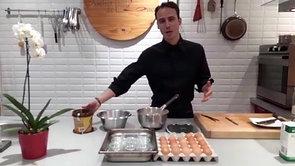 Recette petits pots à la crème, 2 saveurs : Chocolat praliné et vanille