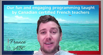 Online French Summer Camp