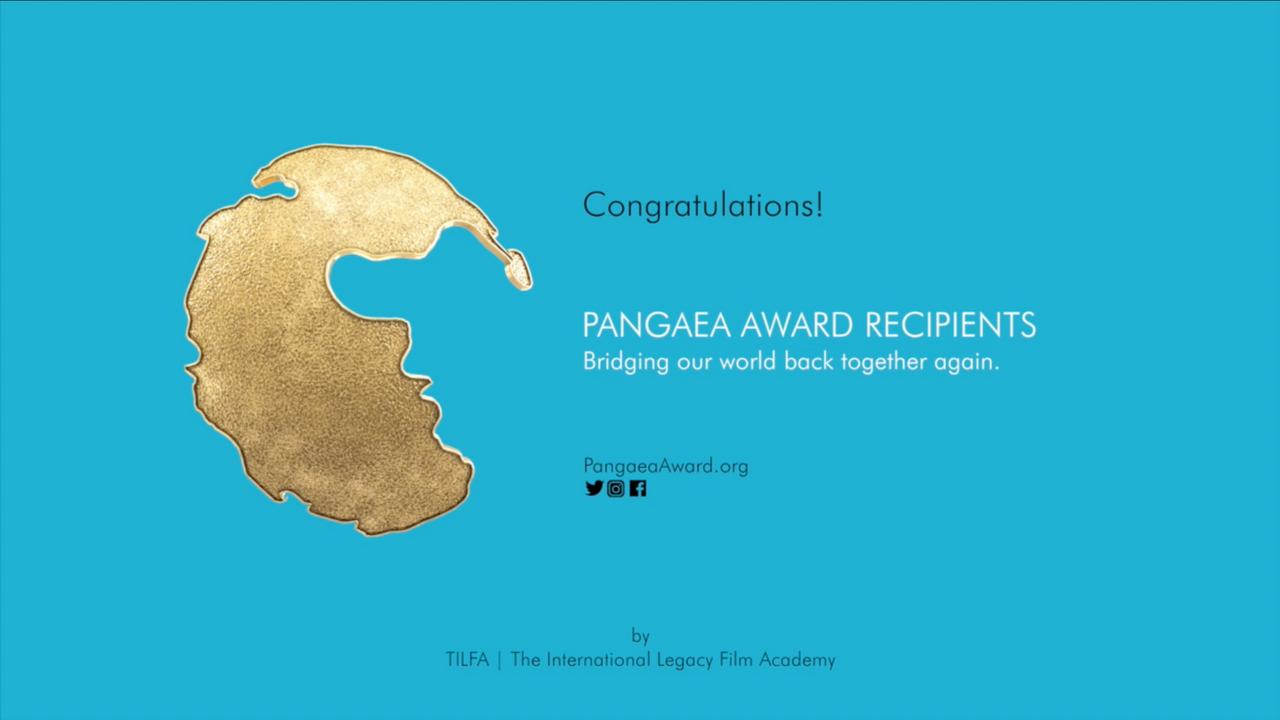 Pangaea Award Recipient Congrats (2 min 18 sec)