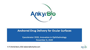 AnkyrBio: Anchored Drug Delivery for Ocular Surfaces
