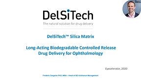 DelSiTech: Drug Delivery Ophthalmology Eyecelerator 2020-Narration