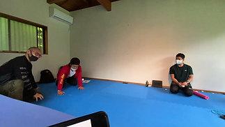 感覚誘導を用いた重心移動エクササイズの実践