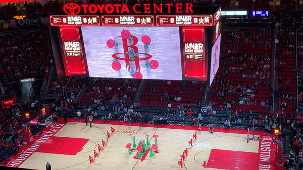 DAA at Rockets Halftime