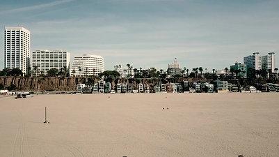 Santa Monica Drone