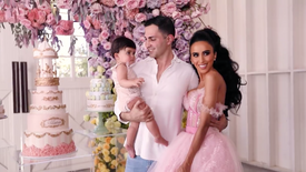 Alara's 1st Birthday Party | Lilly Ghalichi's Daughter