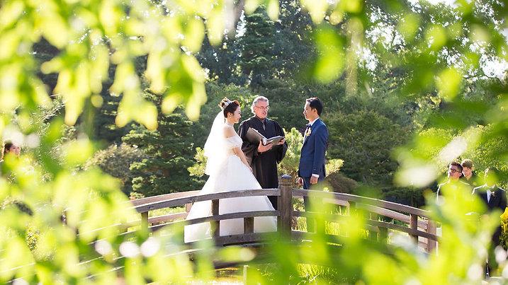 Hakone Gardens Wedding