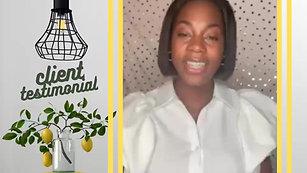Christine J x TS Branding Solutions Testimonial