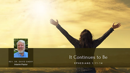 Sunday Worship 05/09/21