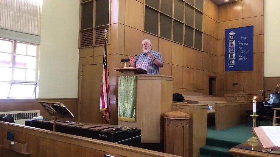 Sunday Worship 07/25/21