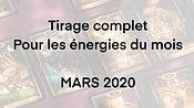 Mars 2020 - Les énergies du Mois (Complet)