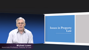 Introduction to Issues in Property Law