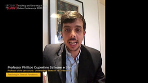 Teaching in Time of Pandemic | Professor Phillipe Cupertino Salloum e Silva