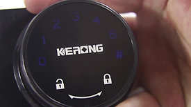 KERONG glass cabinet lock