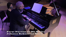 First Partita in Bb Major by Johann Sebastian Bach, performed by John Neal