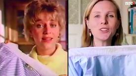 Waarom vrouwen in reclames nog steeds de was doen