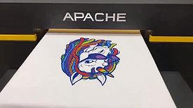 APACHE DTG 4050G - T恤数码打印机