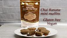 Chai Banana mini muffins