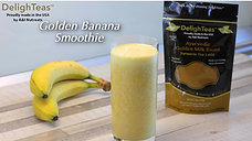 Golden Banana Smoothie