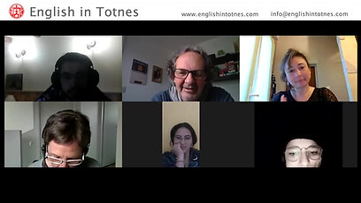 EiT General English Online class give their reasons for studying English