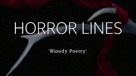 Horror Lines Poetry Collection Trailer