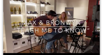 """Max and Bronwyn, """"Teach Me To Know"""""""