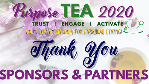 Purpose TEA 2020 Sponsor Promo