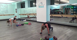 Body on Fire!  Punch, Crunch Cardio Intervals & Lower Body Weights