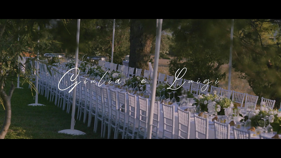 Trailer Giulia e Luigi || Wedding Destination