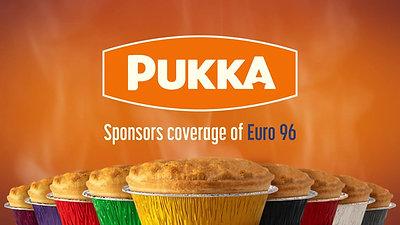 Pukka - The People's Pie - Sponsors of Euro96