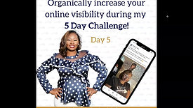 Day 5 - Niche Marketing Madness