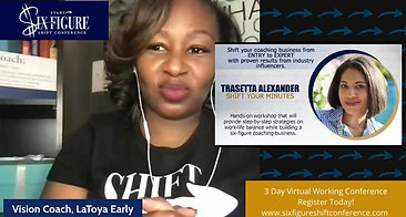 Shift Your Minutes with Business Productivity Coach Trasetta Alexander -