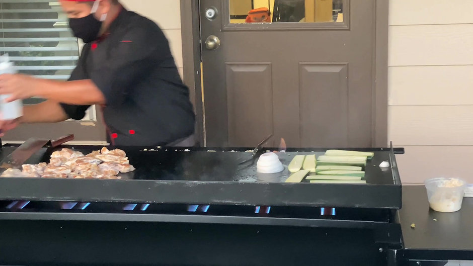 Mobile Hibachi - Live Action