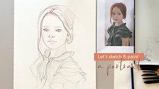 Portrait Drawing Techniques - Part 1