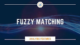 Fuzzy Matching