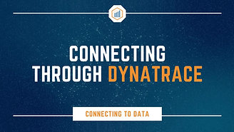 Connecting through Dynatrace