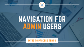 Navigation for Admin Users
