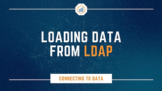 Loading Data from LDAP