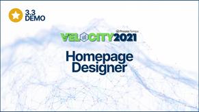 NEW: Homepage Designer