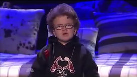 Keenan Cahill with Nick Cannon   Teenage Dream / Famous   America's Got Talent