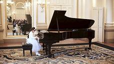 Rosemarie LoBasso (piano), J.S.Bach - Prelude in E Major BWV 937
