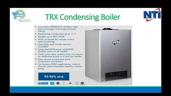 NTI TRX-GF200 Product Training
