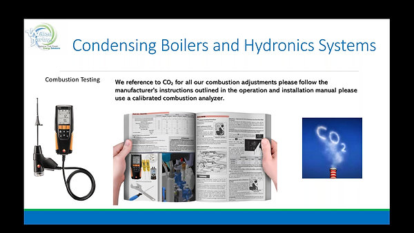 Condensing Boilers & Hydronic Systems.