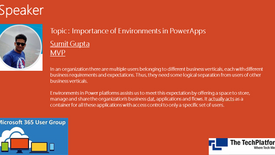 Importance of Environments in PowerApps