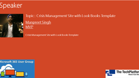 Crisis Management Site with Look Books Template