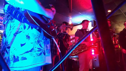 Jamming with Funk 'n' Beers @ College Bar, Stillwater, OK. 4/5/18