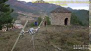 Geo-radar al Monestir-video amb fotos