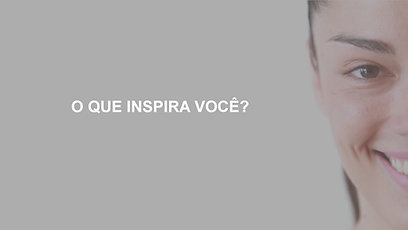 O que inspira você?